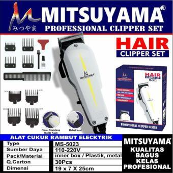 Pencarian Termurah NEW Alat Cukur Rambut Elektrik Professional Hair Clipper  Mitsuyama MS-5023 harga penawaran f35f1811f5