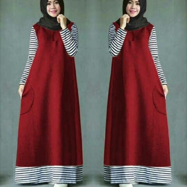 J&C Setelan Ameera Hijab / Dress Maxi / Maxi Muslim / Setelan Maxi Dress / Dress Muslim / Setelan Busana Muslim / Setelan Baju Muslim / Baju Gamis Wanita / Setelan Muslim / Hijab Fashion / Hijab Style