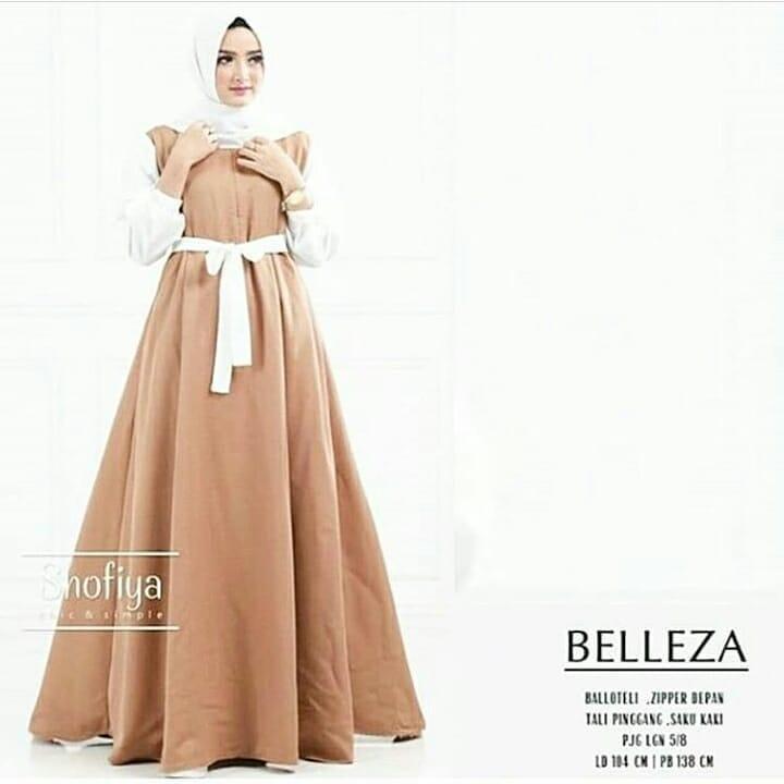 Baju Gamis Belleza Dress Muslimah