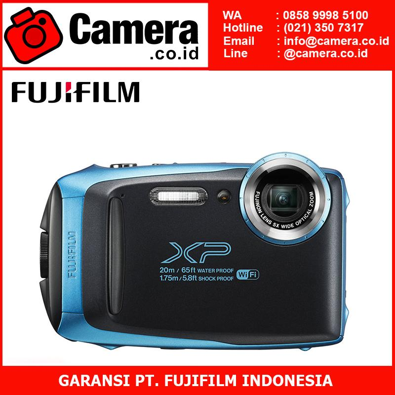 FUJIFILM Finepix XP-130 (Sky Blue)