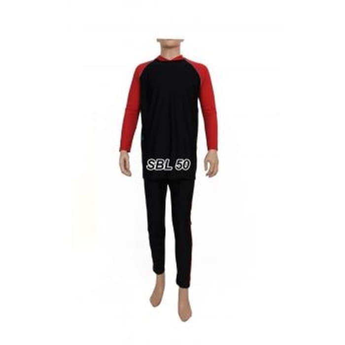 Baju Renang Pria Ukuran L dan XL Tangan Panjang Dewasa