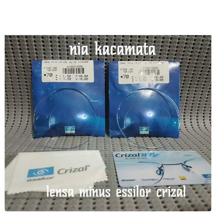lensa essilor crizal minus/clinder/plus