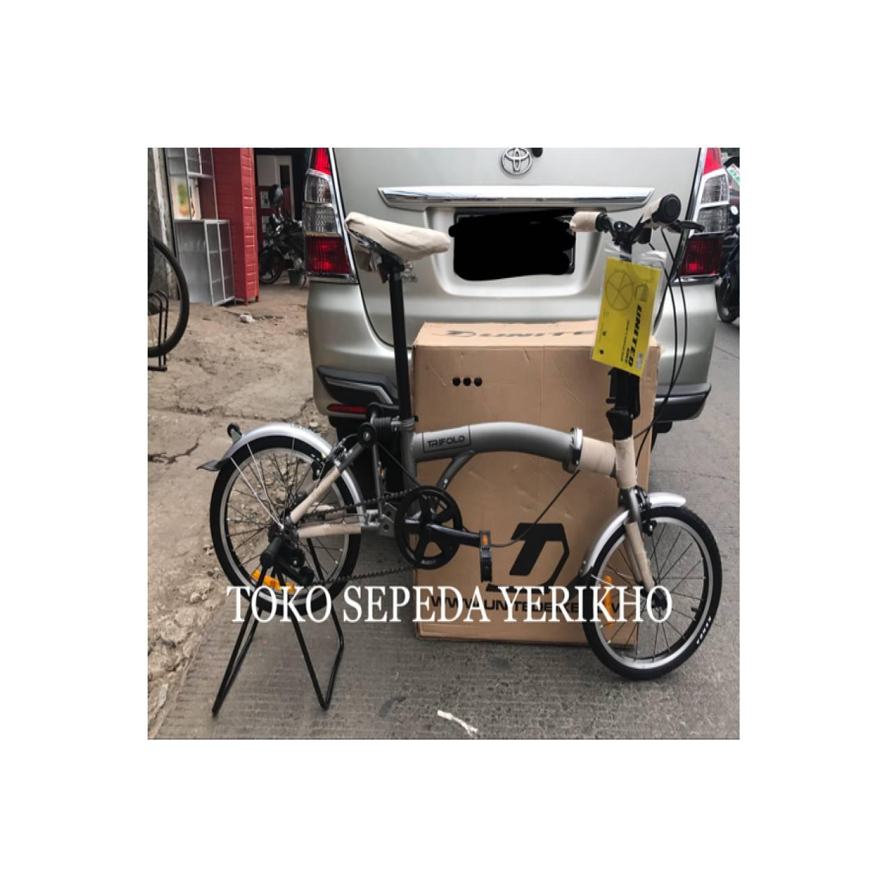 Sepeda Lipat 16 United Trifold ( Lipatan Model Brompton )