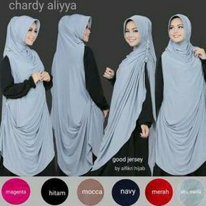 LAGI DISKON !! Khimar Cardi Aliyya / Chardi Aliyya Best Seller Diskon Muslimah Fashion Promo Wanita Hijab Jilbab Ramadhan