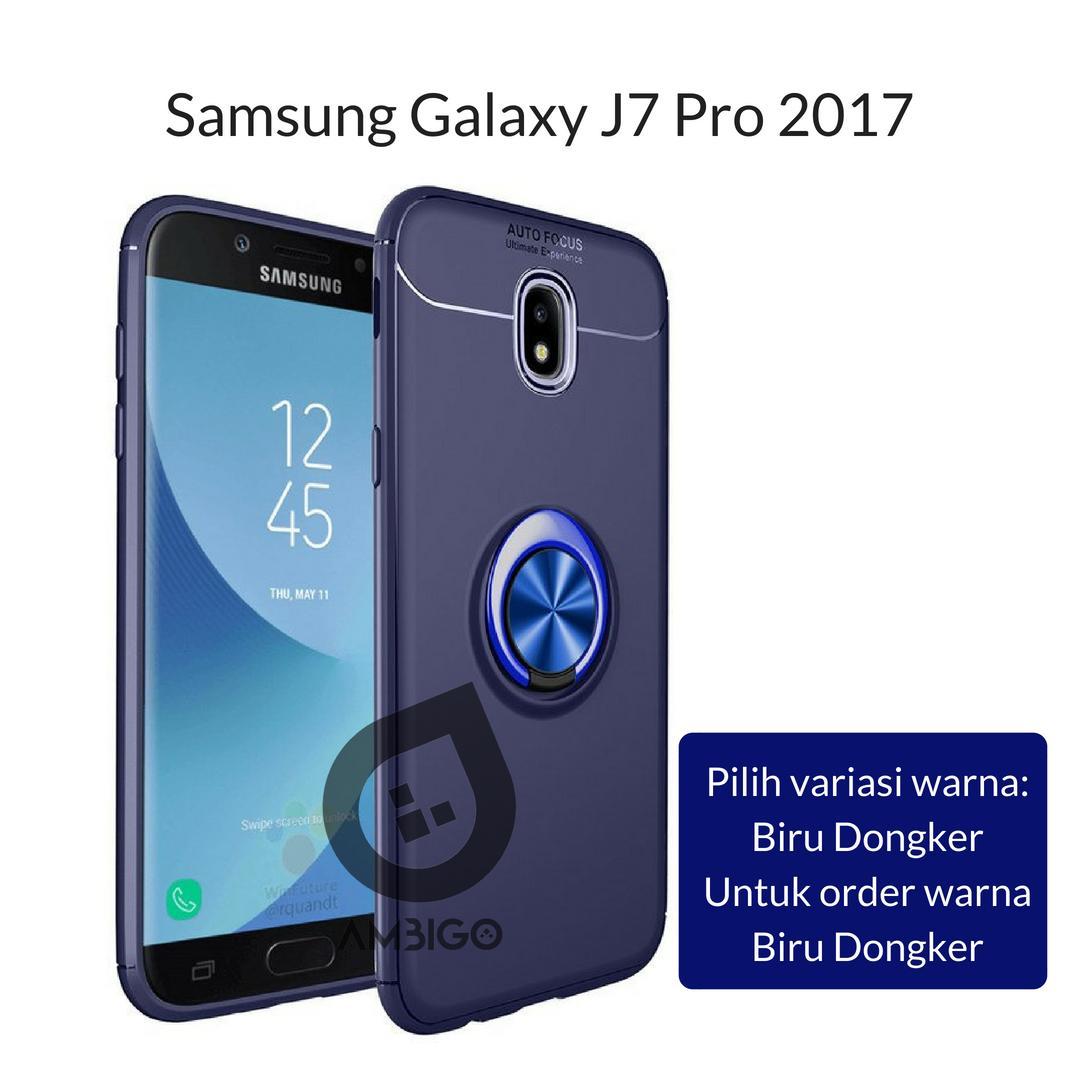 Ambigo Case Samsung Galaxy J7 Pro 2017 ( J730 ) Ultimate Invisible Ring Kickstand Hybrid