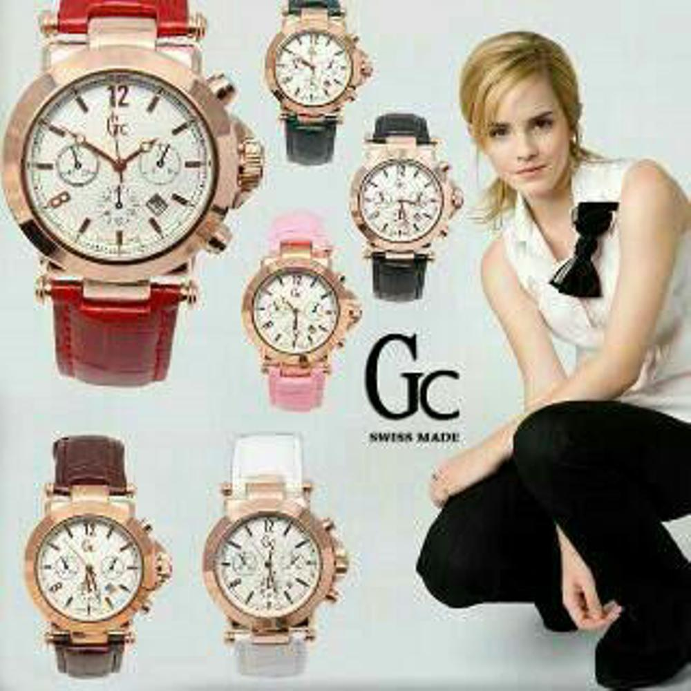 Jam Tangan Gc Wanita November Guess Collection Gc Ladychic Y06009l7 Stainless Jam Tangan Wanita Rose Gold