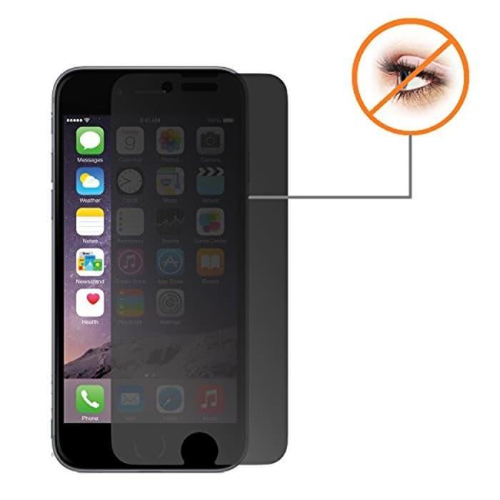 Promo Tempered Glass Taff Japan 9H2.5D Anti Spy for iPhone 6 Plus terlaris