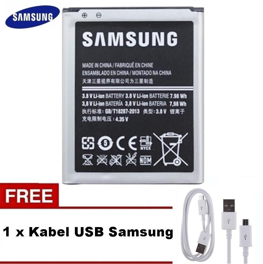 Samsung Baterai GT-i9082 (2100 mAh) Battery Galaxy Grand Duos - Original Gratis