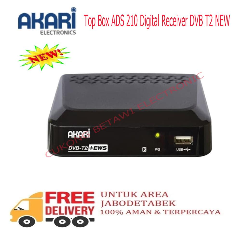 Akari Set Top Box ADS 210 Digital Receiver DVB T2-NEW