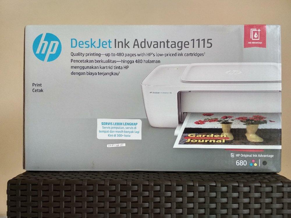 Printer Deskjet In Advantage 1115 By Semart Komp.