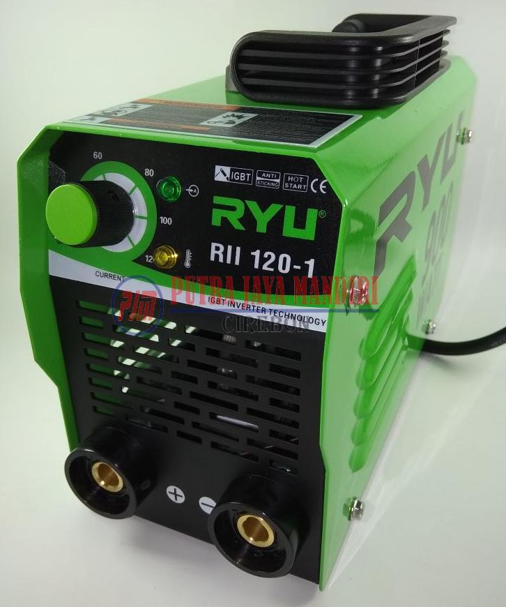 Tekiro Ryu Mesin Las / Trafo Las Inverter Welder Welding IGBT 120Ampere 900watt