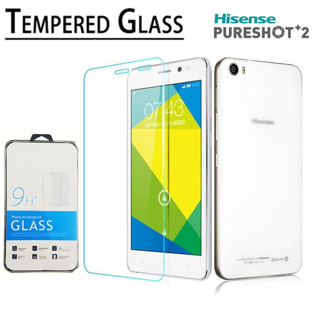 Tempered Glass Premium Screen Protector 9h Untuk Hisense Pure Shot Lcd Pureshot Plus Hs L695 Complete