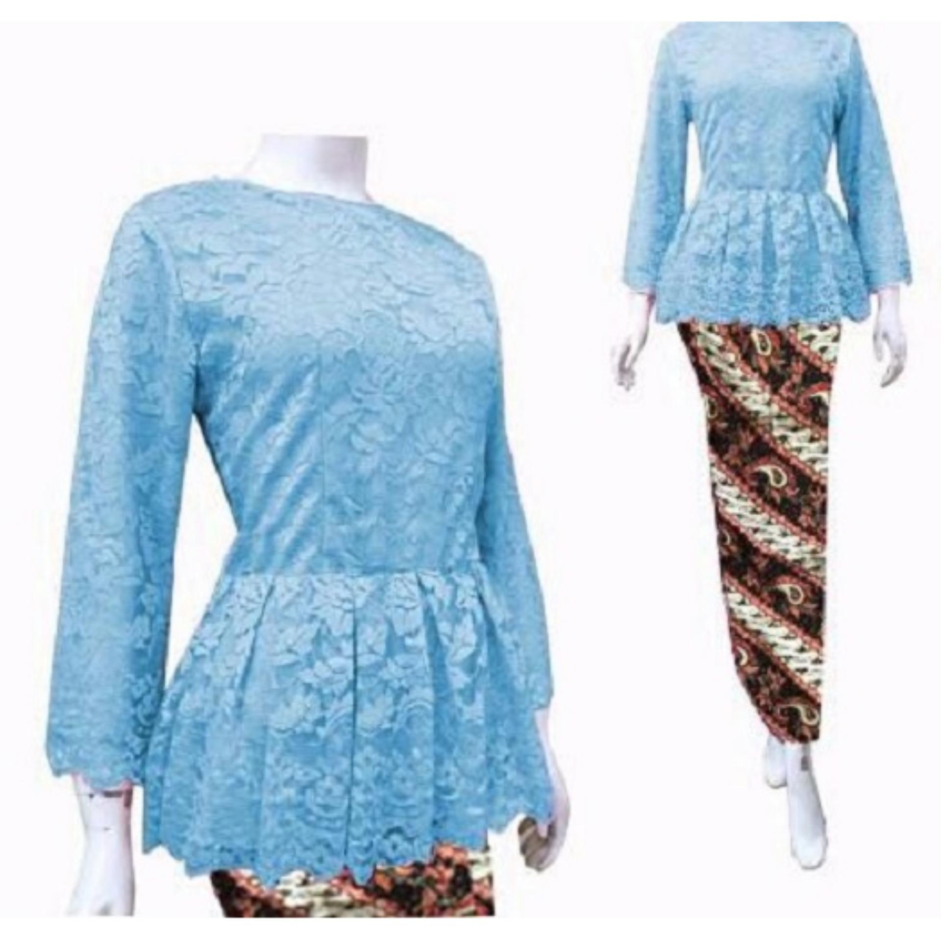 Buy Sell Cheapest Amorshop Setelan Farasya Best Quality Product Elsheskin X Tasya Pakaian Wanita Brukat Dan Batik