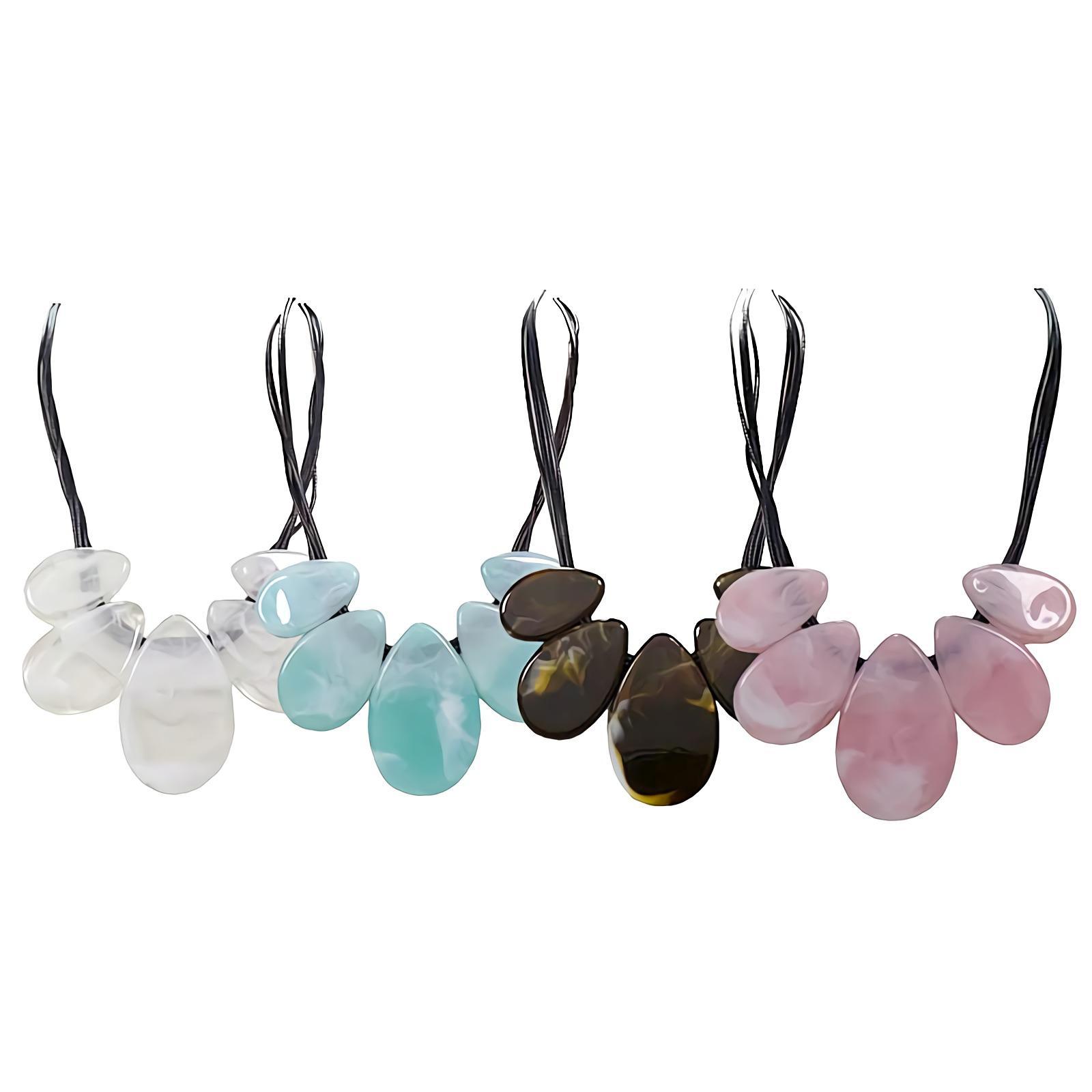 OFASHION Colorful Accessories Kalung Wanita Panjang 63 CM Necklace CA -180802-K012