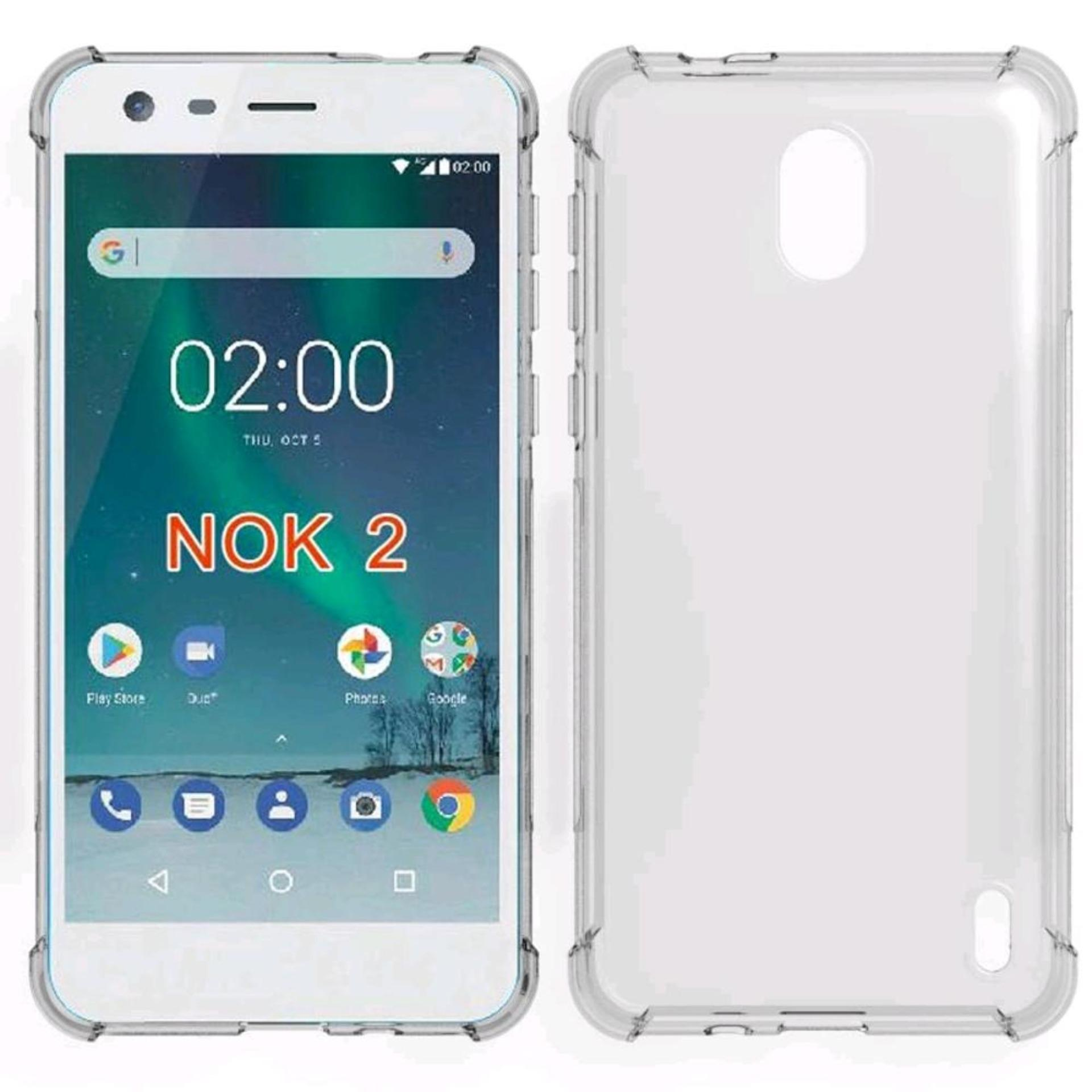 ShockCase for Nokia 2 | Premium Softcase Jelly Anti Crack Shockproof - Transparan