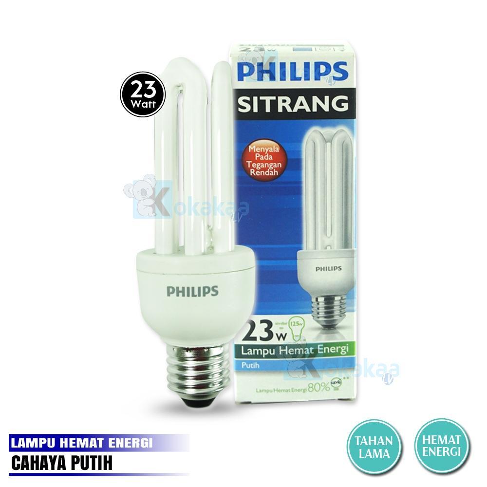 Philips Lampu Bohlam Sitrang 23Watt Hemat Energi Lampu LED - Putih