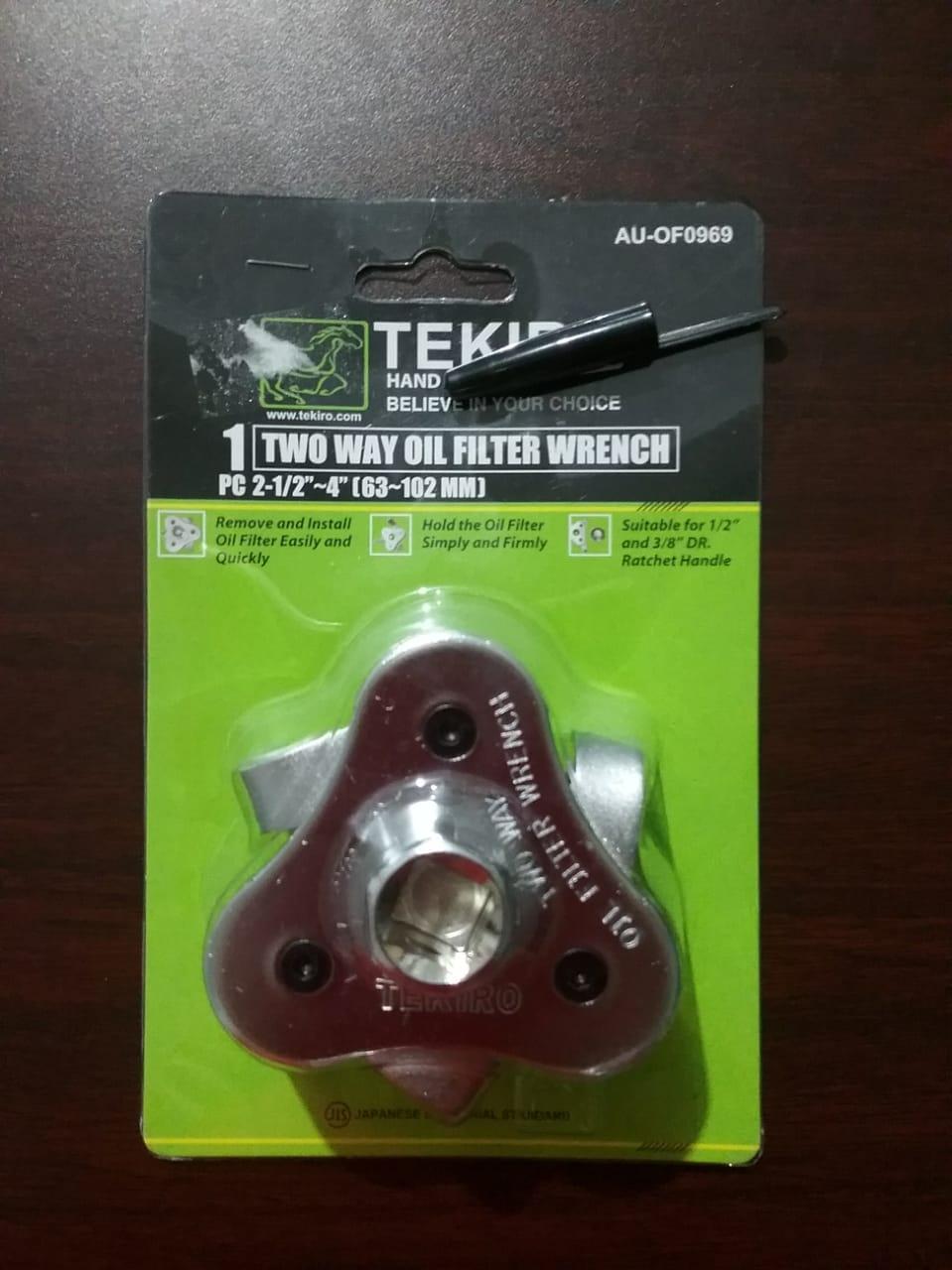 Kunci Filter Oli Tekiro 2 arah Two Way Oil Filter Wrench
