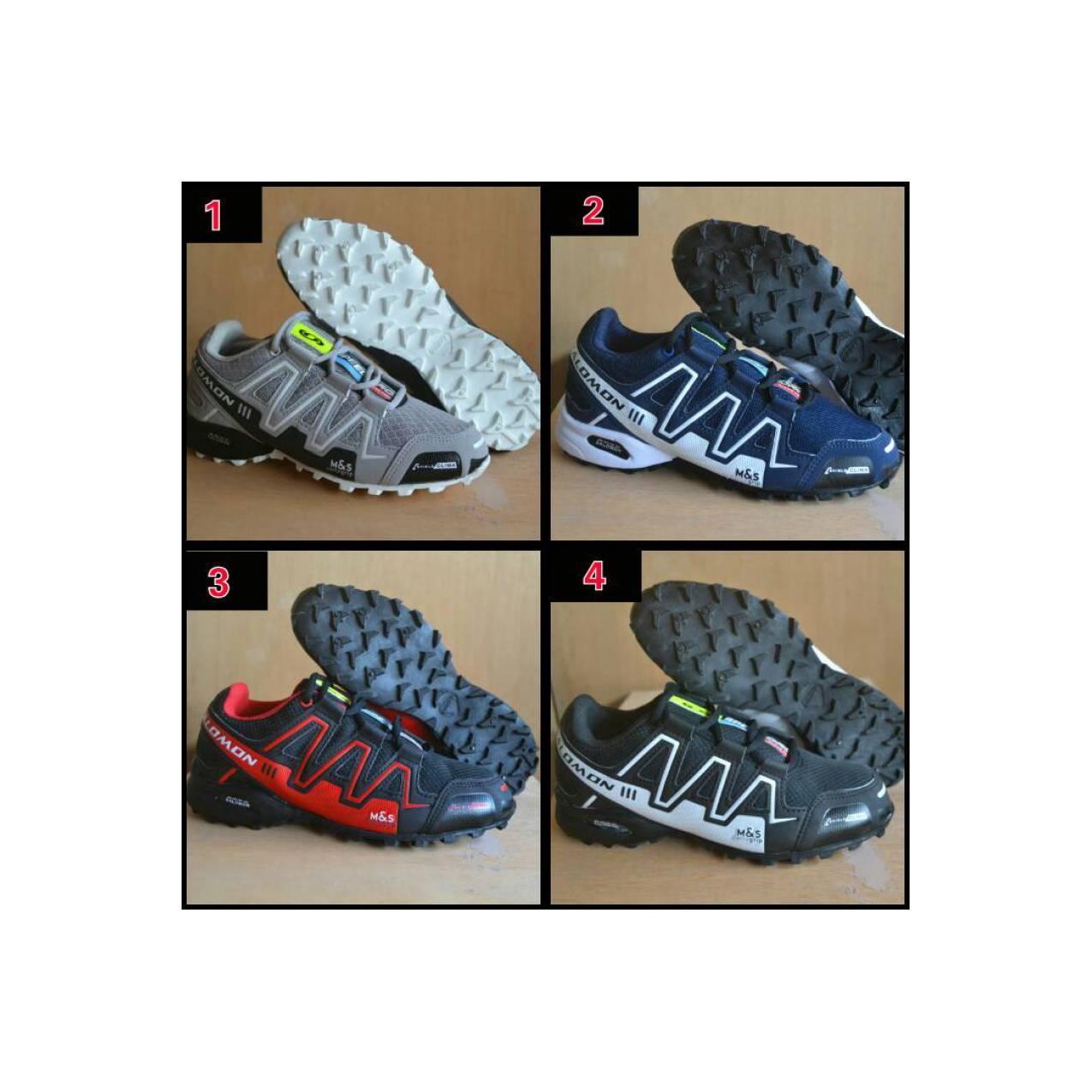 Sepatu Salomon / tracking hiking gunung / KARRIMOR / EIGER / SNTA/ TNF