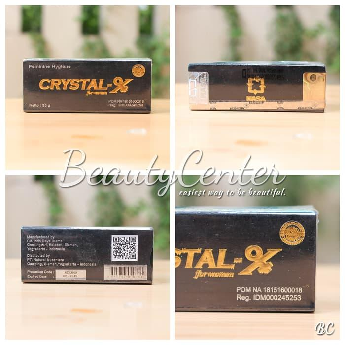 Termurah Crystal X Original NASA