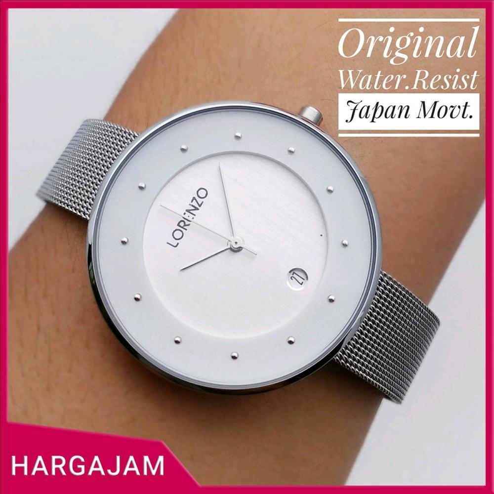 Jam Tangan Wanita Original Lorenzo By Hargajam Cewek Ori Model Casio Anti Air Water Resist