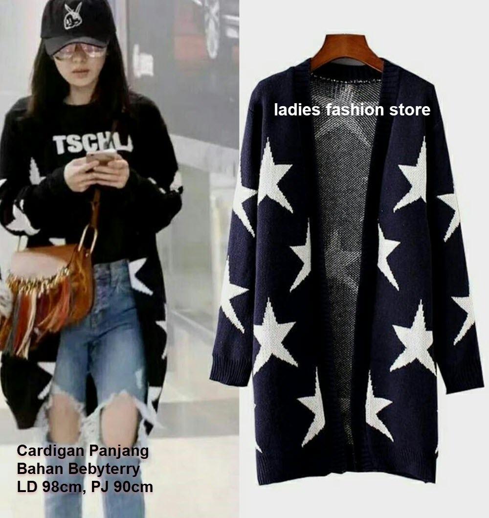 Cardigan Lengan Panjang / Long Cardy / Cardigan Panjang Korean Style / Cardigan Wanita Korea / Card
