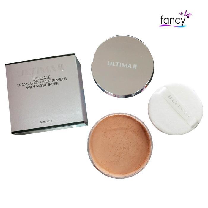 Ultima Delicate Translucent Face Powder 43gr / Bedak tabur murah / Face Powder 43gr / Bedak Tabur untuk Kulit Berminyak