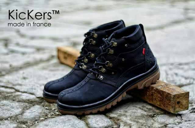 sepatu pria boots terkeren-sepatu bootst termodis termurah - sepatu boots monster