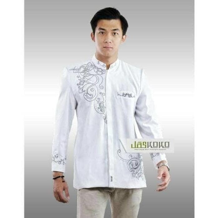 HARGA SPESIAL!!! Jaskoko (Jasko Baju Koko Jas Modern Eksklusif) Alhambra White