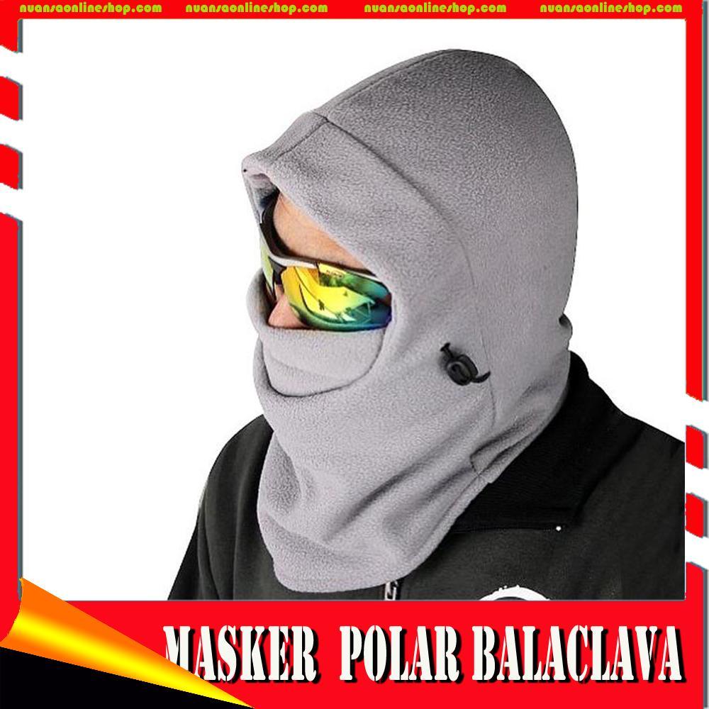 Masker buff balaclava multifungsi ninja kupluk Polar 6 in 1 FullFace . Source · Masker Mata