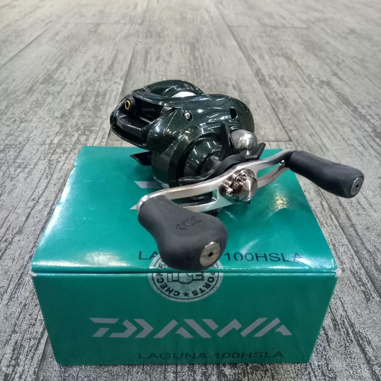 Reel Daiwa Laguna 100 HL 6 bb/Ball Bearing (stok Terbatas)