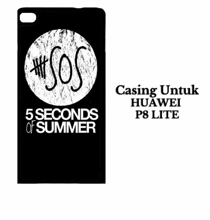 Casing HUAWEI P8 LITE 5 Second Of Summer Log Hardcase Custom Case Se7enstores