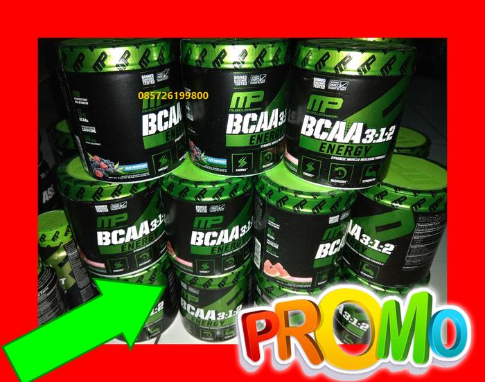 MP BCAA Energy Powder Bubuk Muscle Pharm Musclepharm 30 Serving