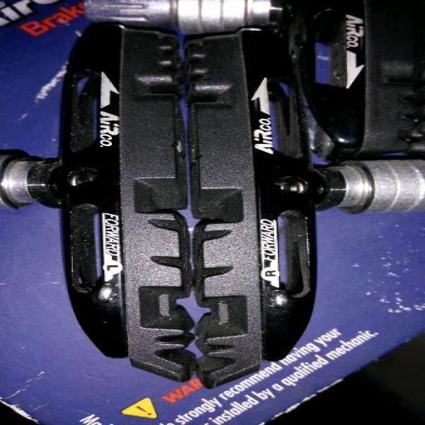 vbrake pad BBB Airco cocok untuk sepeda lipat dahon fnhon litepro tern verge polygon brompton birdy alex moulton united element rim alloy