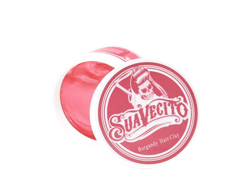 Pomade Suavecito Coloring Wax Red / Burgundy - Warna Merah - Claybased / Clay based - Free Sisir Saku - Hair Wax - Minyak Rambut