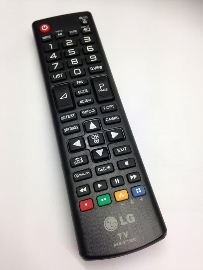 Remote LED TV LG 100% Original - Model Pendek ORIGINAL