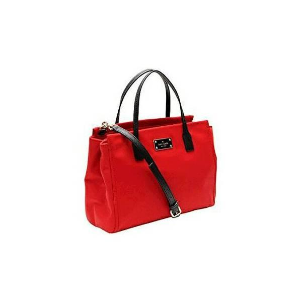 Kate Spade Loden Nylon Red Nwt. Tas Branded Original