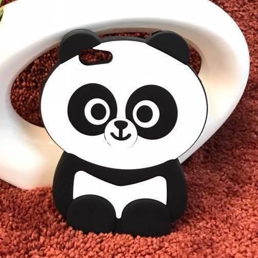 New Vivo Y71 / Vivo Y79 / Vivo V7plus / Oppo F5 /Oppo A73/ Oppo A79/Silicone Softcase 3D Panda Chubby Boneka Imut / Case HP / Silikon HP / Softcase Kartun / Soft Back Case Unik Lucu / Case Karakter Funny / Casing Hp / Casing