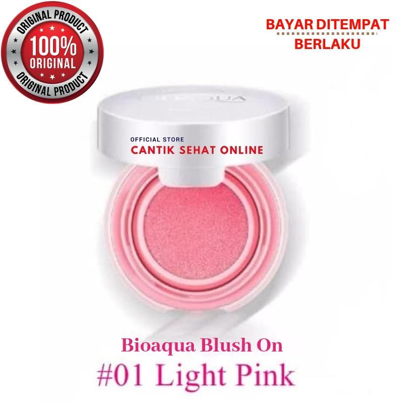 BIOAQUA / BIOAQUA Blush On / BIOAQUA Blush On Cushion / Blush On Bioaqua / Bio Aqua / Bio Aqua Blush On / Pemerah Pipi / Perona Pipi / Make Up Blush On / Make Up BioAqua