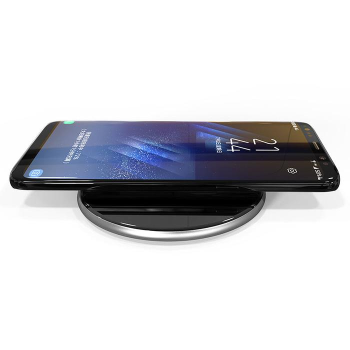 Qi Wireless Charger Dock Fast Charge for Smartphone