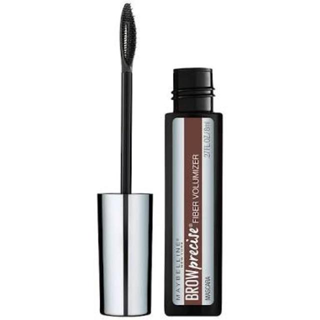Maybelline Brow Precise Fiber Volumizer Eyebrow Mascara 8ml Variasi 260 Deep Brown