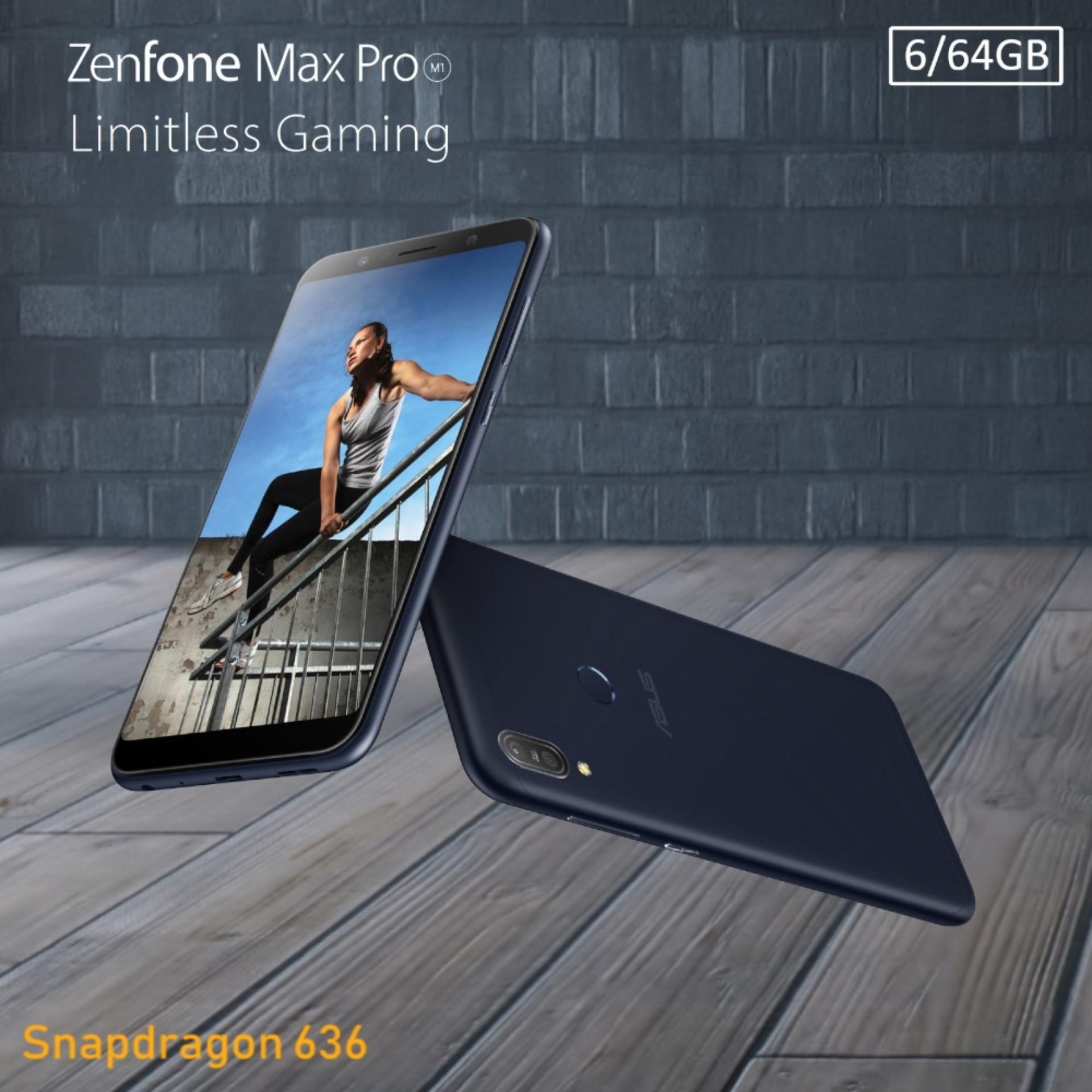 Asus Zenfone Max Pro M1 ZB602KL 6/64 Snapdragon 636 5000mAh Resmi