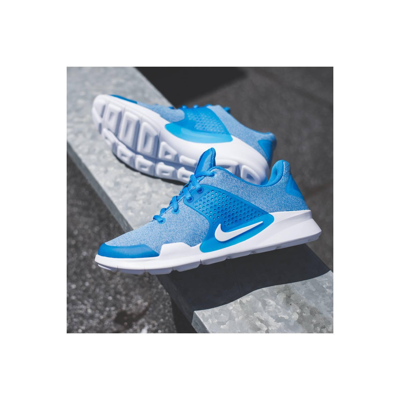 [ORIGINAL] Sepatu RUNNING NIKE ARROWZ MENS 902813-400 Solar Blue - Biru, 43