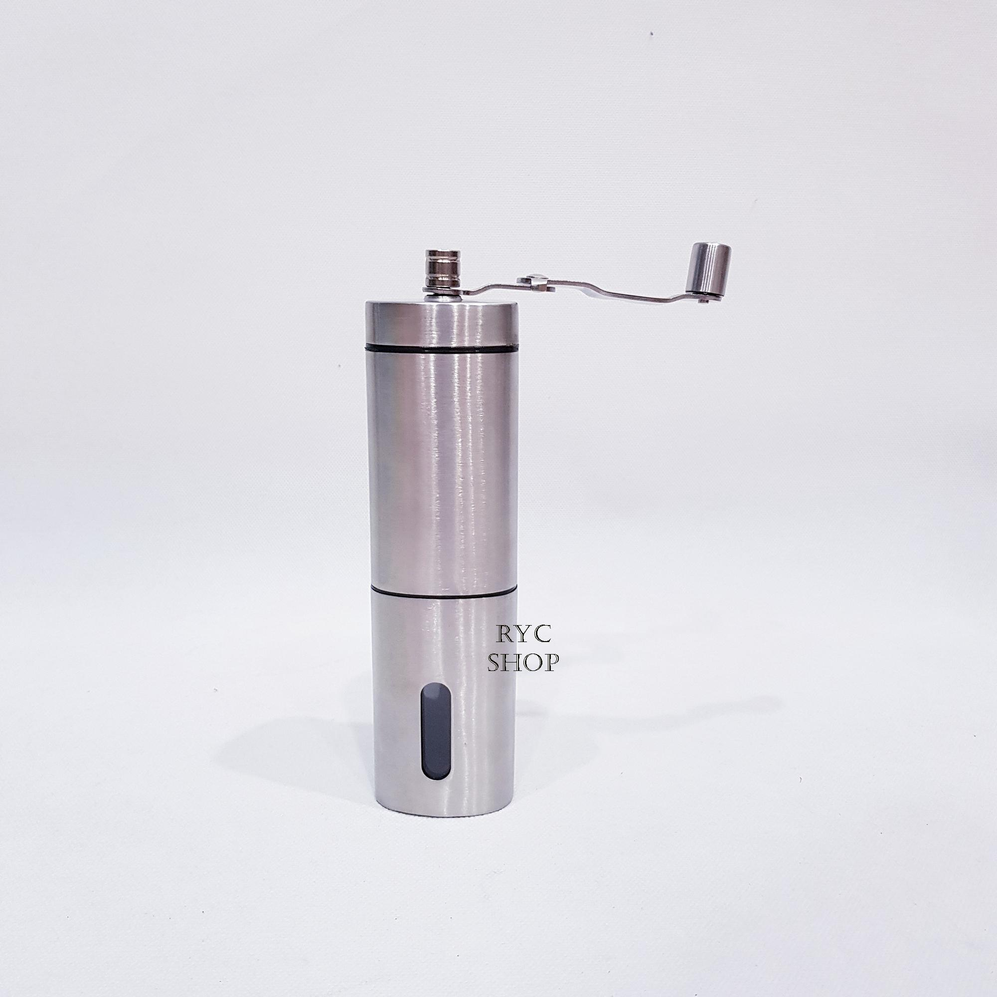 Coffee Grinder Stainless Steel / Coffee Grinder Manual / alat Penggiling Kopi Stainless Steel Termurah
