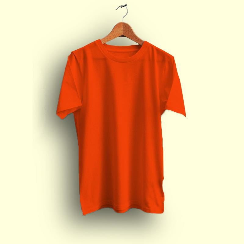 Kaos Polos ORANGE - Cotton Combed 20s