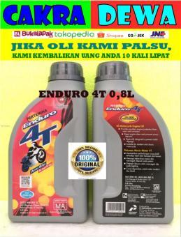 Pencarian Termurah Pertamina Enduro Oli MOTOR 4T 20W50 kemasan 800 ML harga penawaran - Hanya Rp47.347