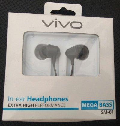 Headset Handsfree Vivo earphone for Smartphone Android Vivo