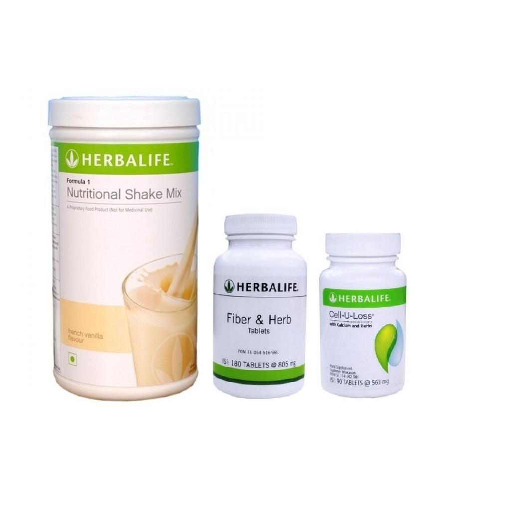 herbalife_#shake-fiber-cell u loss paket 3in1 A paket pelangsing #pelangsing