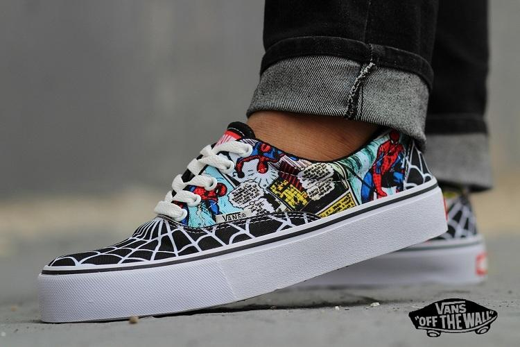 PROMO SEPATU VANS PRIA Starwars SPIDER MAN sneakers pria Kets Casual Fashion 79f7ada173