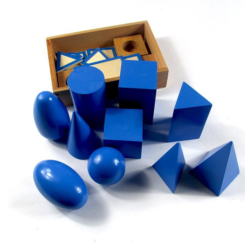 Butik geometris Tiga Dimensi kelompok Mongolia dan Taiwan Montessori Mainan bayi Montessori sensorik Mainan bayi Profesional