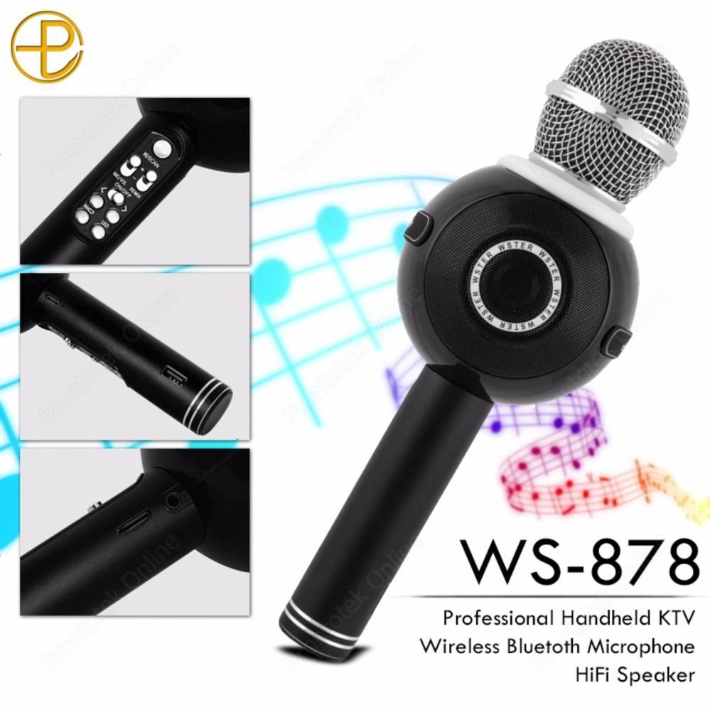 Lumin WS-878 Mic Karaoke bluetooth Smule Bigo Speaker